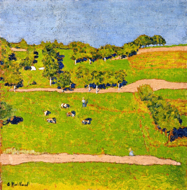 Édouard Vuillard - Landscape at Romanel