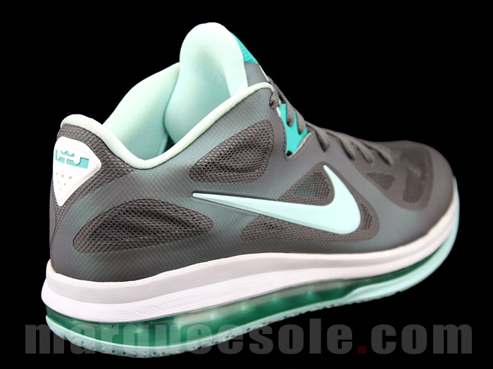 the latest 6c0b1 09efa ... Nike LeBron 9 Low GreyMint CandyNew Green 8220Easter8221 ...