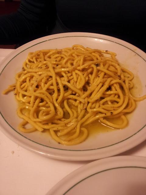 cacio peppe, La Campana Roma