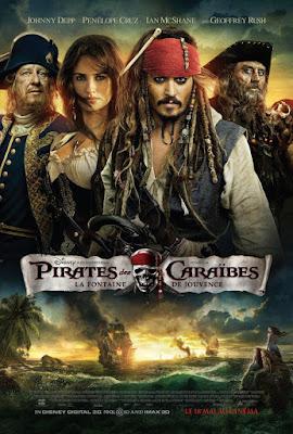 Cinéma : quelques films vus et appréciés : Pirates des Caraïbes : La Fontaine de Jouvence