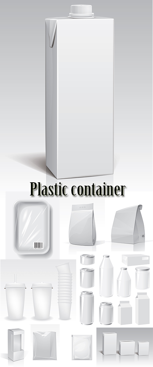 Stock: Plastic container