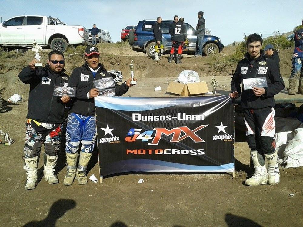 Felipe Urra, Julio y Christian Burgos arrasaron.