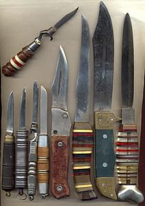 ножи с наборной рукояткой