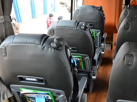 西日本鉄道「はかた号」 0002 ビジネスシート その2