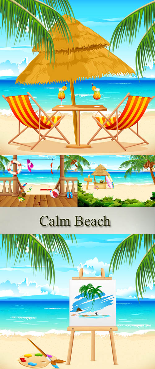 Stock: Calm Beach