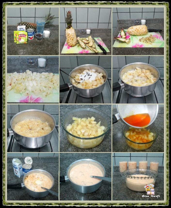 Gelatina de abacaxi 3