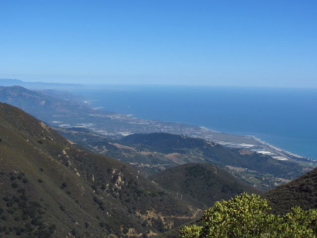 coastline in the Carpinteria direction