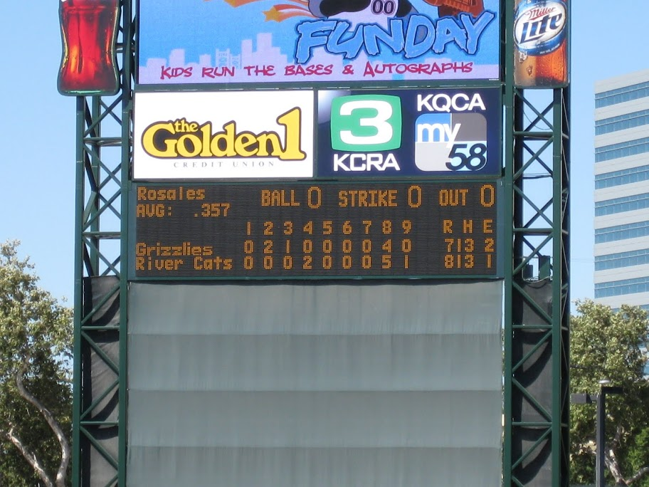 River Cats win, River Cats win!