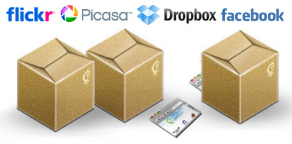 Flickr vs Picasa vs Facebook vs Dropbox