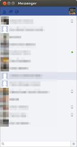 Facebook messenger en Ubuntu