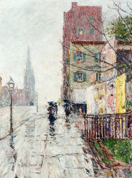 Childe Hassam - Rainy Day