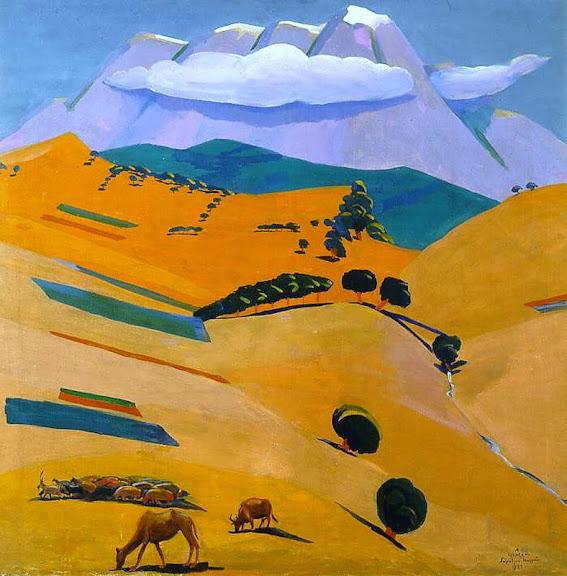 Martiros Saryan - Midday Silence, 1924
