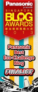 Singapore Blog Awards 2013 Finalist