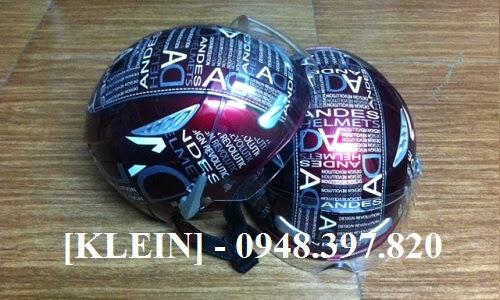 KLEIN Nón Bảo Hiểm ANDES, Mũ Bảo Hiểm Nón Sơn chính hãng New 98-99% Hàng Xịn giá Good - 24