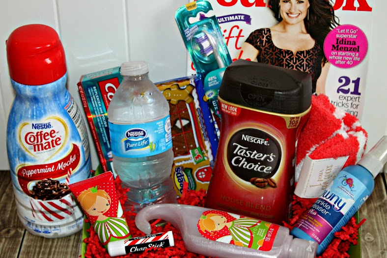 DIY Guest Welcome Basket for Entertaining House Guests #HolidayMadeSimple