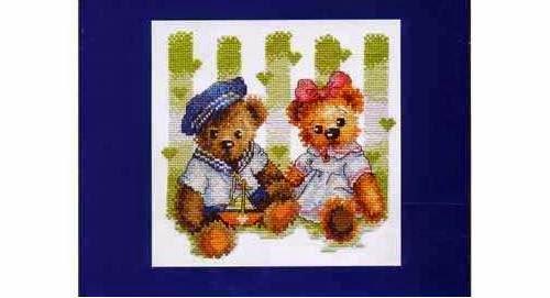 Luxury Bearcross stitch pattern