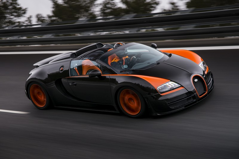 Bugatti Veyron GS Vitesse WRC   The Fastest Open Top Car In The World.  Officially!