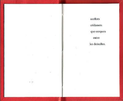 la guerra continua, llibre de poemes