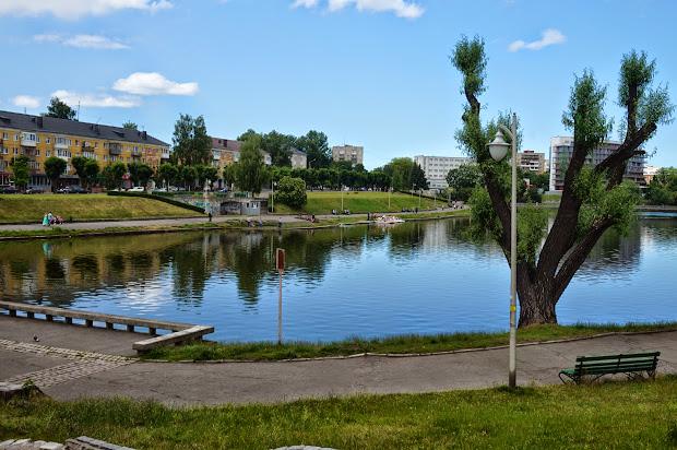 калининград, нижнее озеро