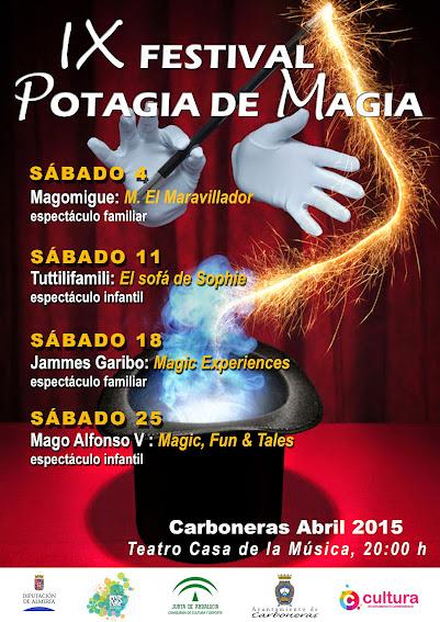 cartel 9 potagia de magia