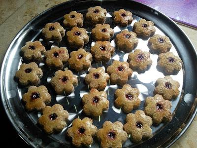 linzer, petits gâteaux à la confiture sans gluten