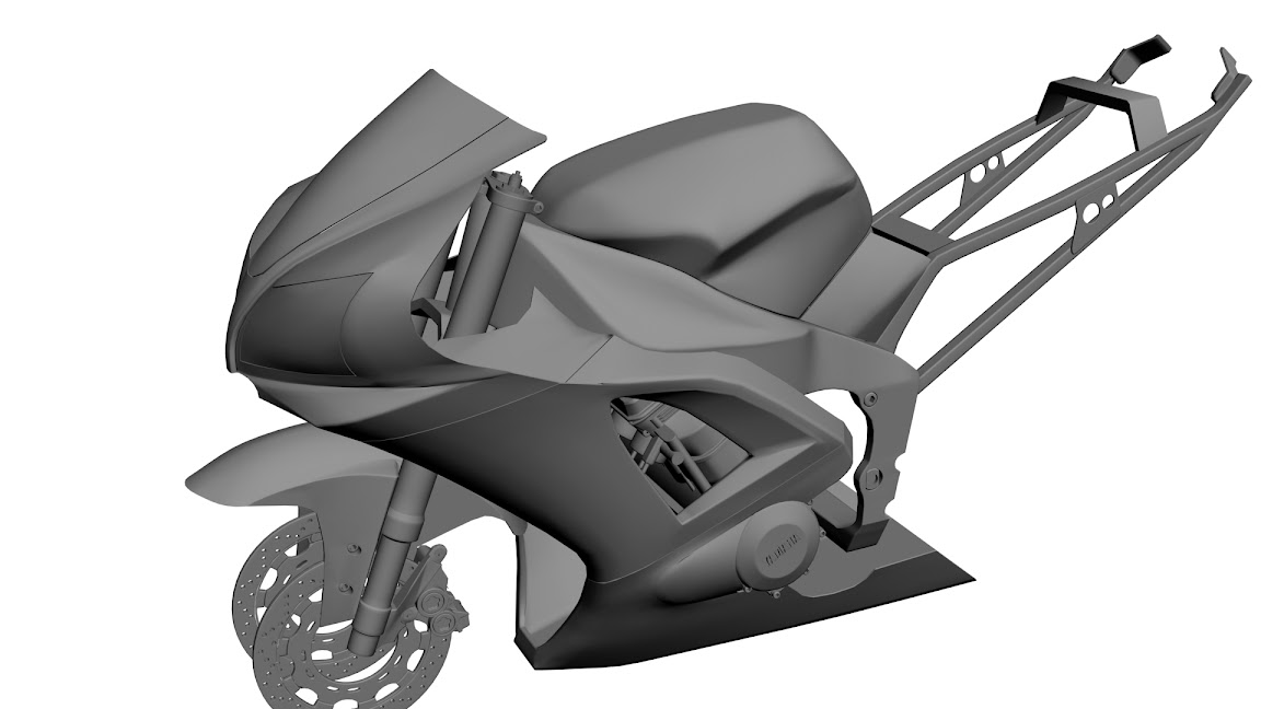 WIP Yamaha R1 19