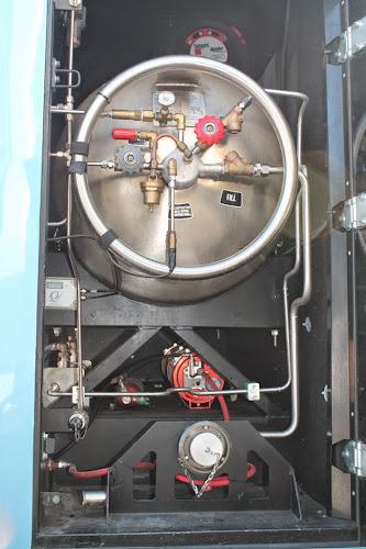 Zbiornik LNG w autobusie