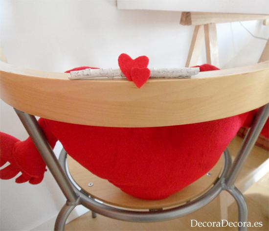 Idea 8 para decorar en San Valentín