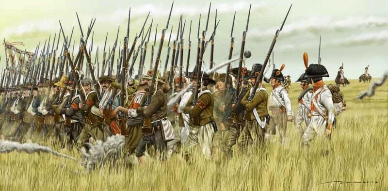 Vilena en la Batalla de Castalla 21 de julio de 1812