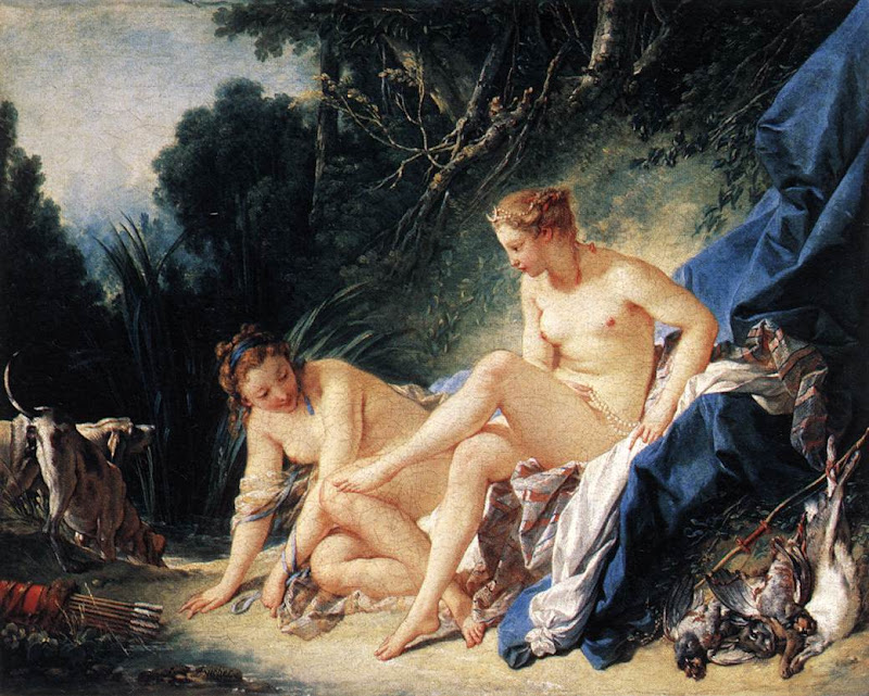 Francois Boucher - Diana Resting after her Bath