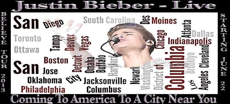 justin bieber - 2013 believe tour is coming to America