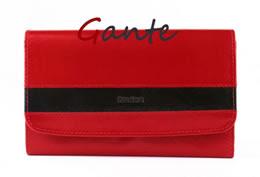 Portfel skórzany damski RED KING 16200 czerwony