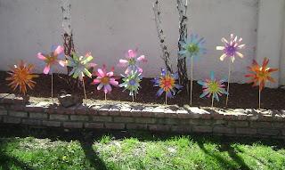 kwiatki z recyklingu