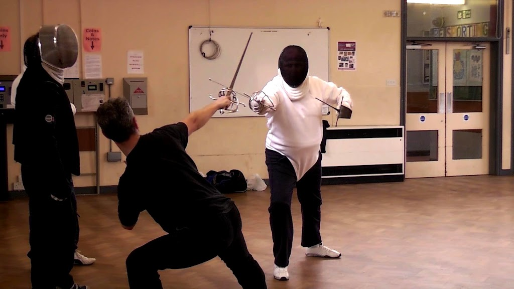 Rapier Fencing - Alan and Steve