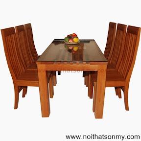 Bộ bàn ghế phòng ăn 05