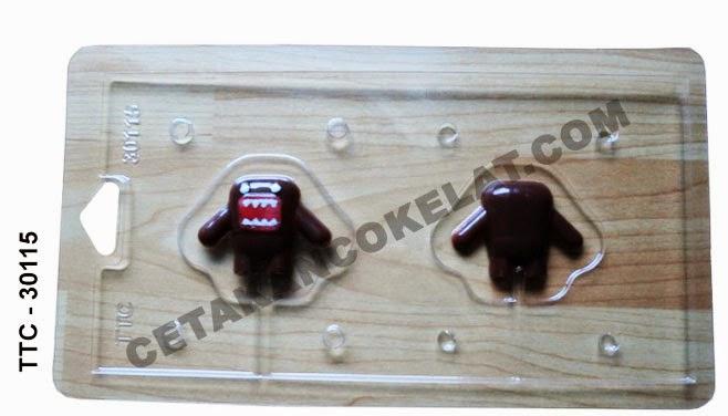 cetakan coklat cokelat domo TTC30115