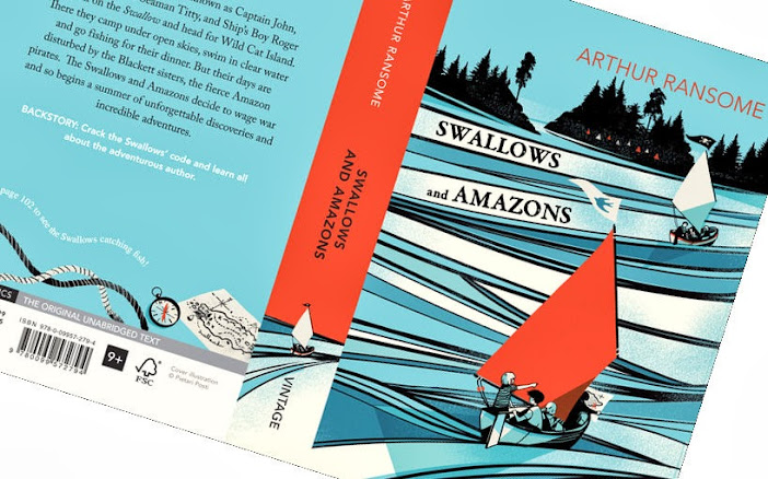 Arthur Ransome, Swallows and Amazons, Vintage Classics book cover