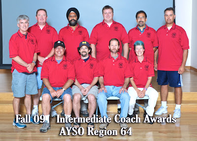 Fall 2009 Intermediate Coaches