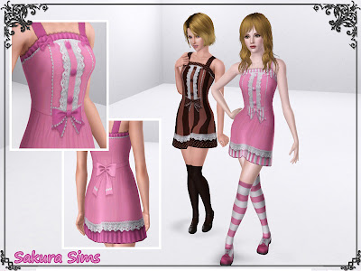 4 Dresses by Sakura Sims FA-minidress02-02