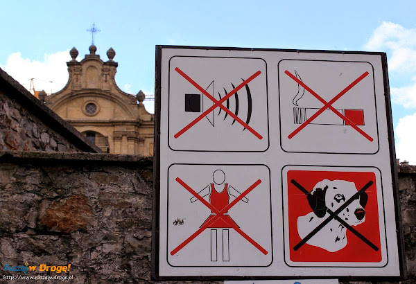 Klasztor Święty Krzyż - zasady zwiedzania