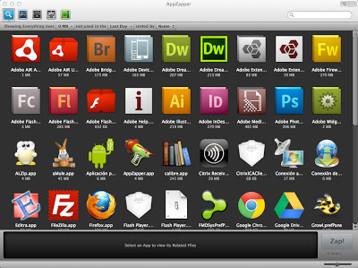 AppZapper Aplicaciones