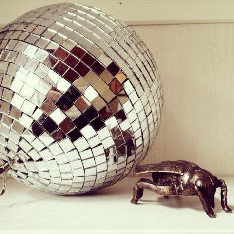 disco ball decor