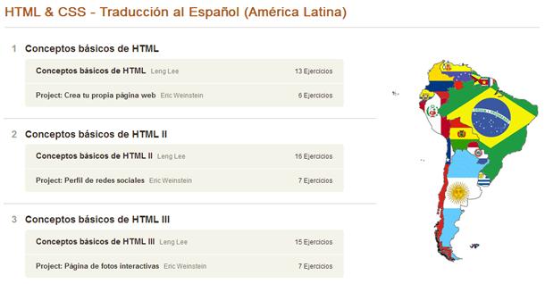 Curso de HTML y CSS en Codeacademy
