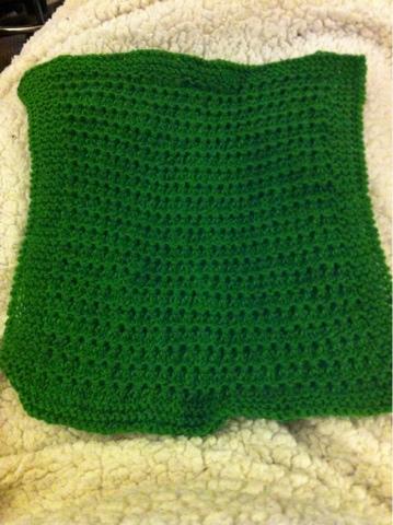 Vogue Knitting Stitch A Day Calendar : Jenns Yarn Addiction: New square