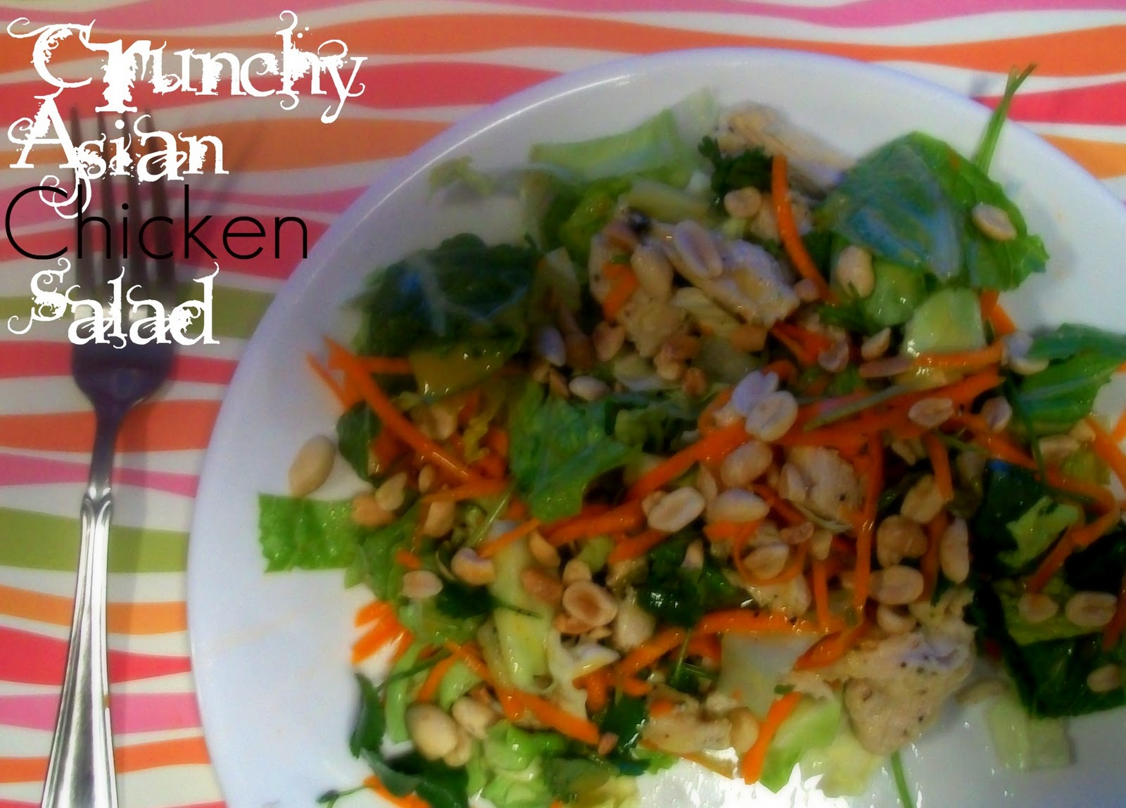 The Farm Girl Recipes: Crunchy Asian Chicken Salad