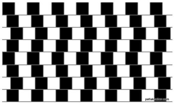 çizgiler düz mü