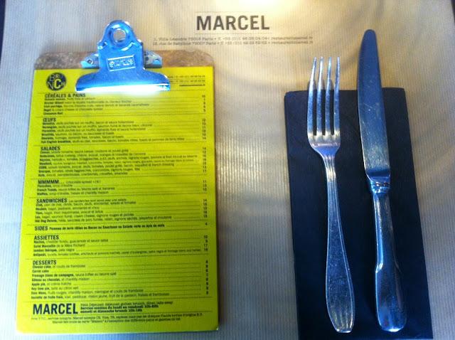 Brunch chez Marcel