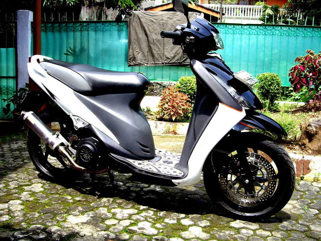 Modifikasi Suzuki Skywave 125