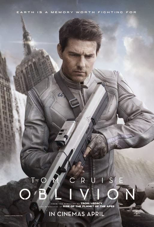 Poster Of Oblivion (2013) Full Movie Hindi Dubbed Free Download Watch Online At Alldownloads4u.Com