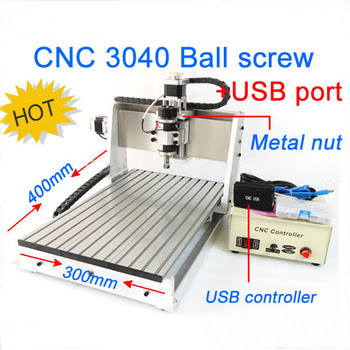 USB port CNC3040 4axis CNC router Ball screw #6109264